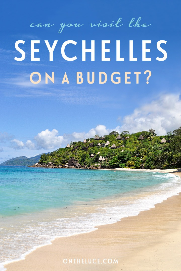Visiting the paradise islands of the Seychelles on a budget, with tips on trip planning and how to save money on accommodation, transport, food and more | Seychelles on a budget | Seychelles budget travel guide | Indian Ocean on a budget | Budget honeymoon