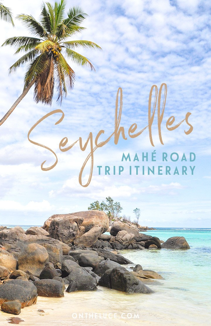 A Seychelles road trip: a one-day driving tour itinerary featuring the best things to do in Mahé, with stunning beaches, mountain views and rum distilleries #Seychelles #IndianOcean #Mahe #roadtrip #itinerary