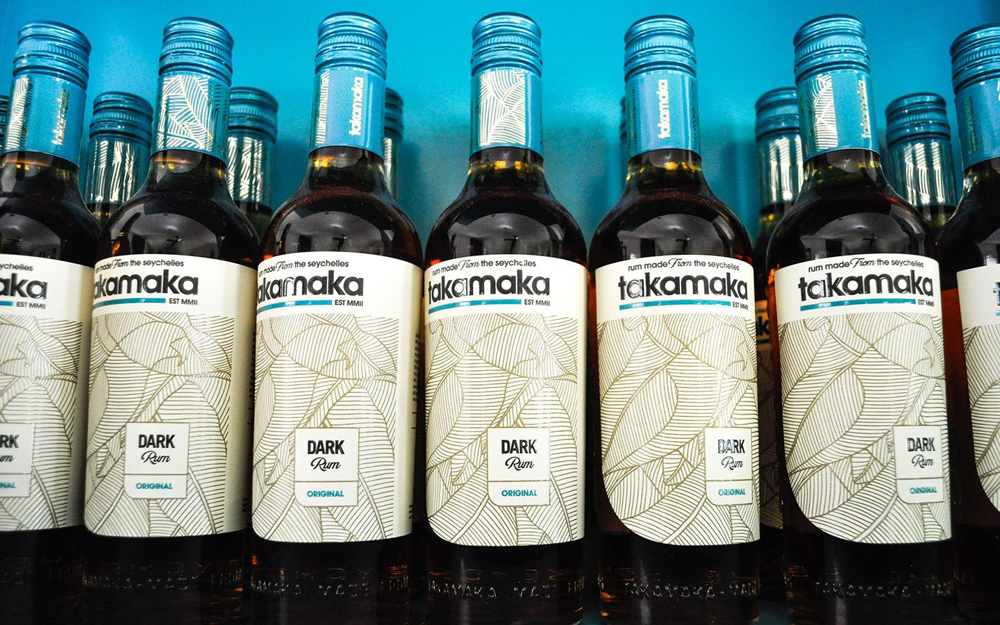 Takamaka rum at the distillery on Mahé island
