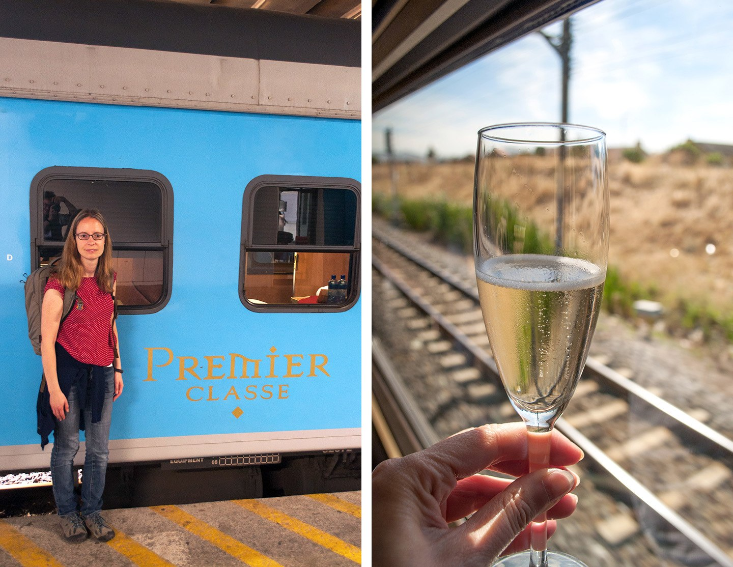 Premier Classe train South Africa