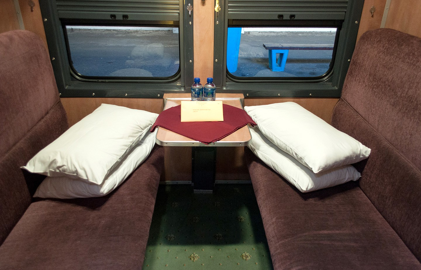Premier Classe train cabin South Africa