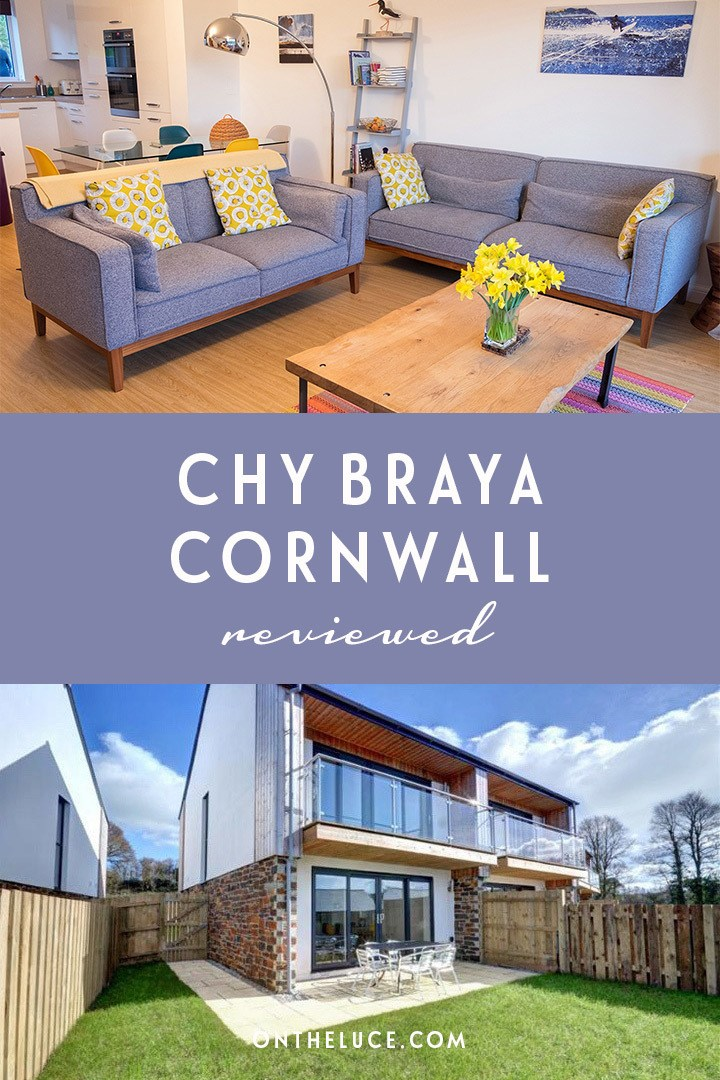 A winter break at Chy Braya in Falmouth, Cornwall – perfect for blustery coastal walks, deserted beaches, cosy pubs and beachside hot chocolates.