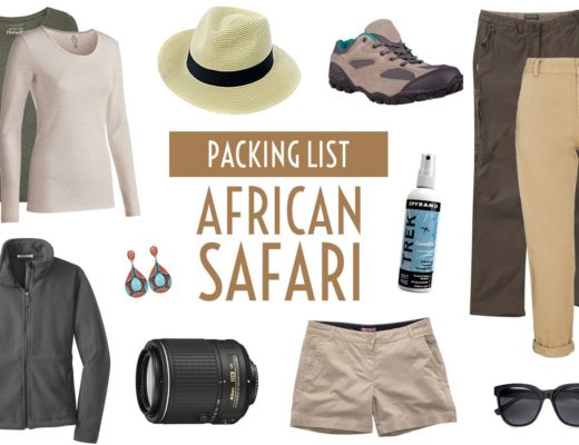 What to pack for an African safari