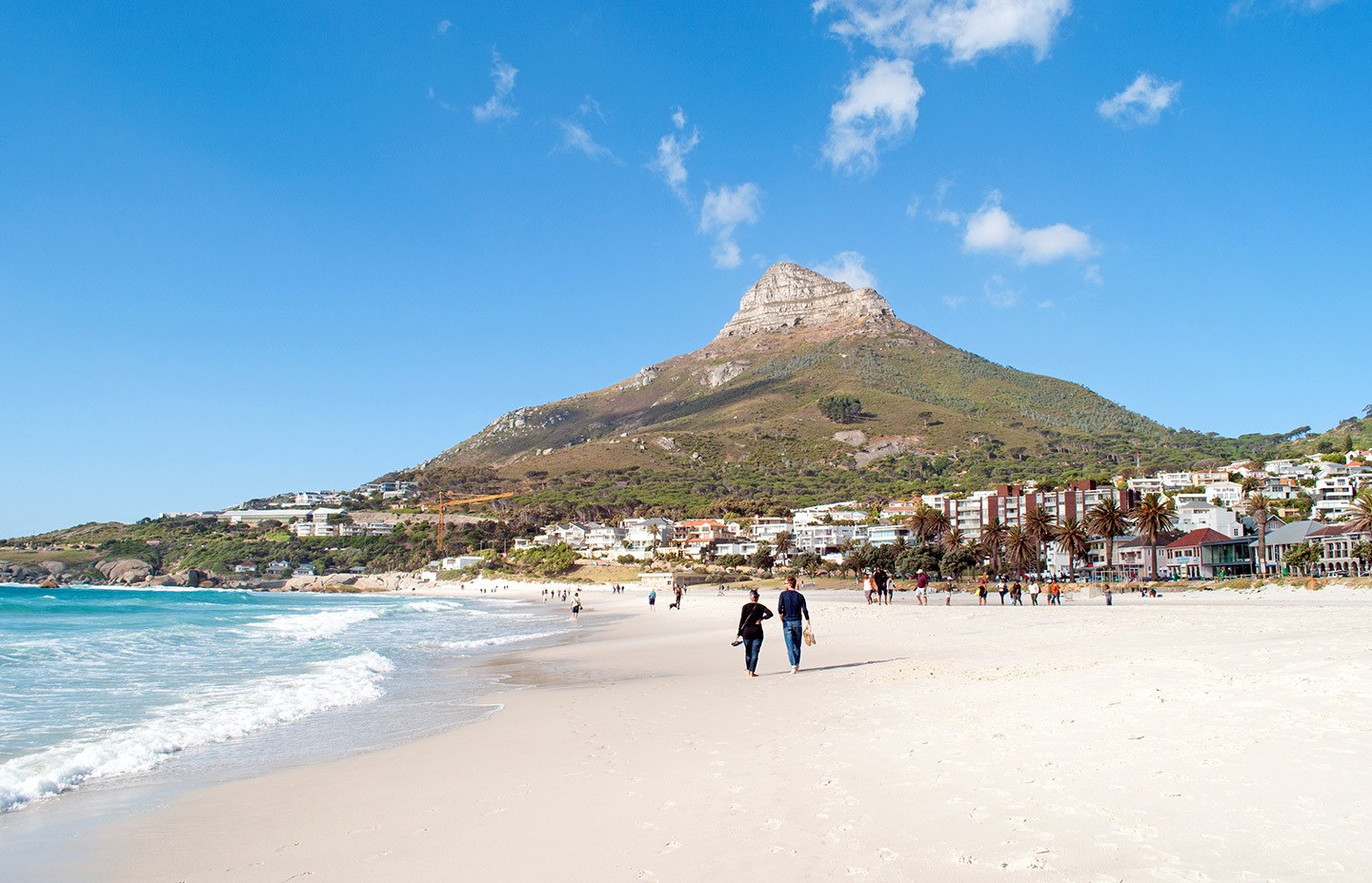 Camps Bay beach South Africa