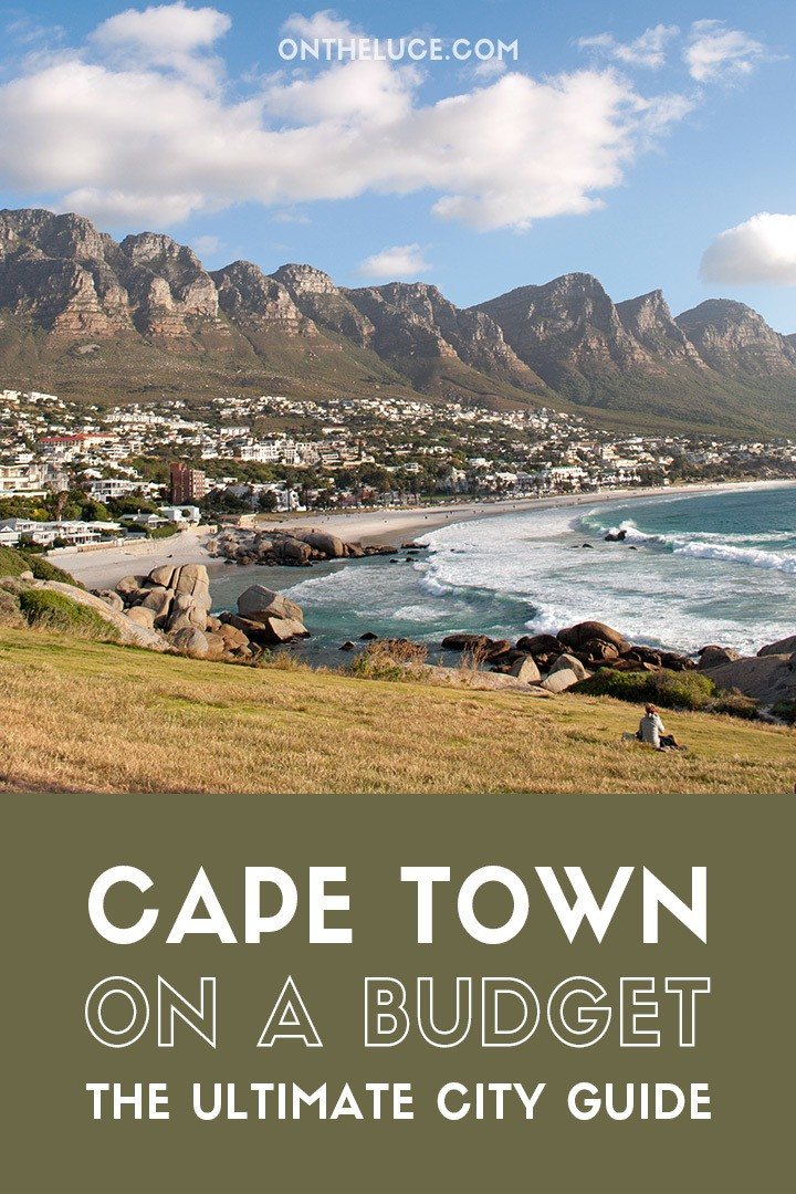 How to save money on sightseeing, museums and galleries, food and drink, city views and transport in the Mother City – the ultimate guide to visiting Cape Town on a budget. #SouthAfrica #CapeTown #budget