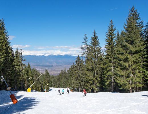 What's it like skiing in Bulgaria?