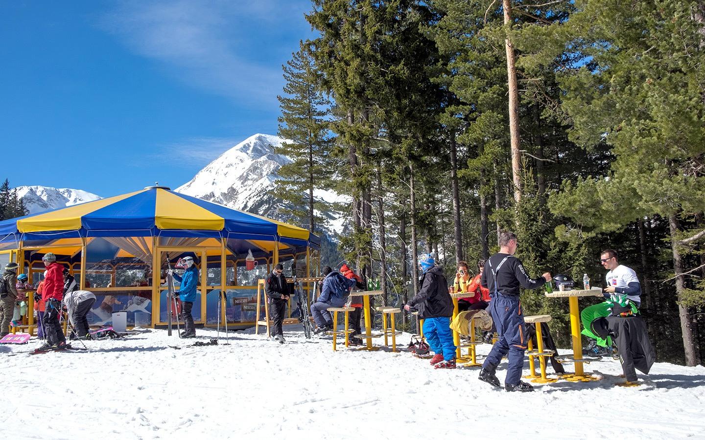 Apres ski in Bansko Bulgaria