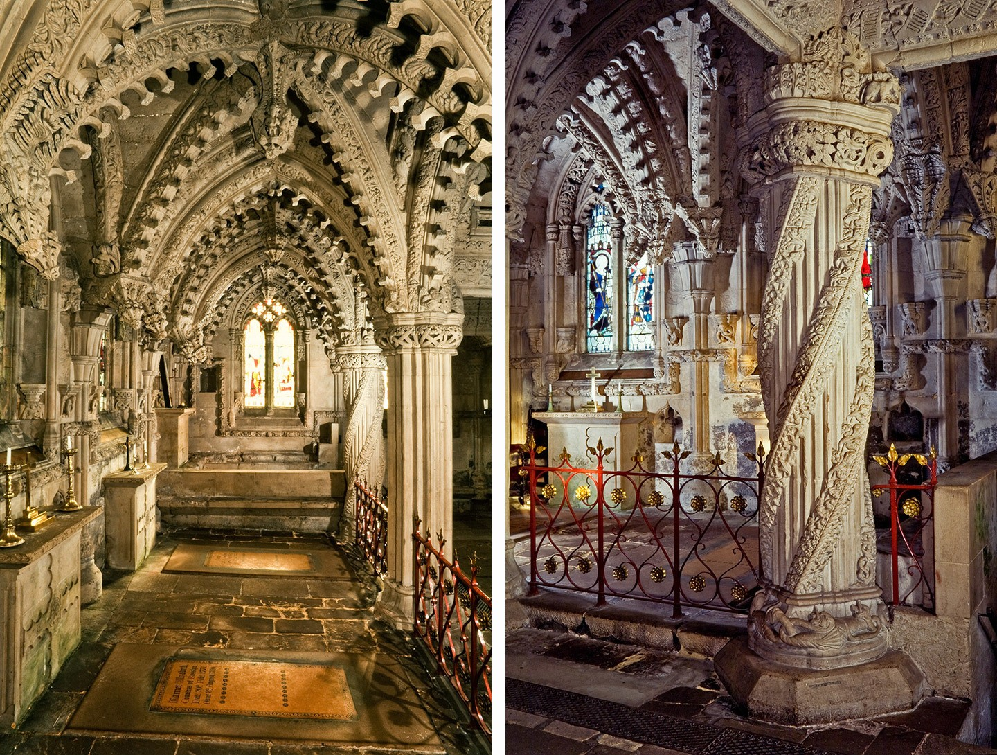 Rosslyn Chapel interior