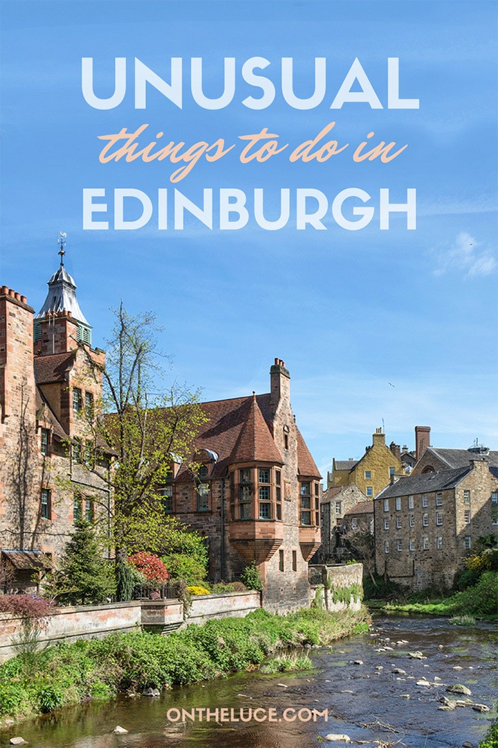 The best unusual and alternative things to see and do in Edinburgh – when you've seen the Castle, Royal Mile and tasted whisky, here's what to do next. #Edinburgh #Scotland #quirky #alternative #UK
