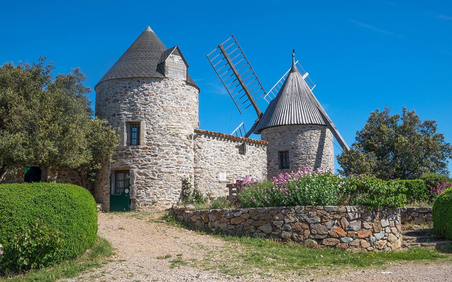Faugères windmills, South of France