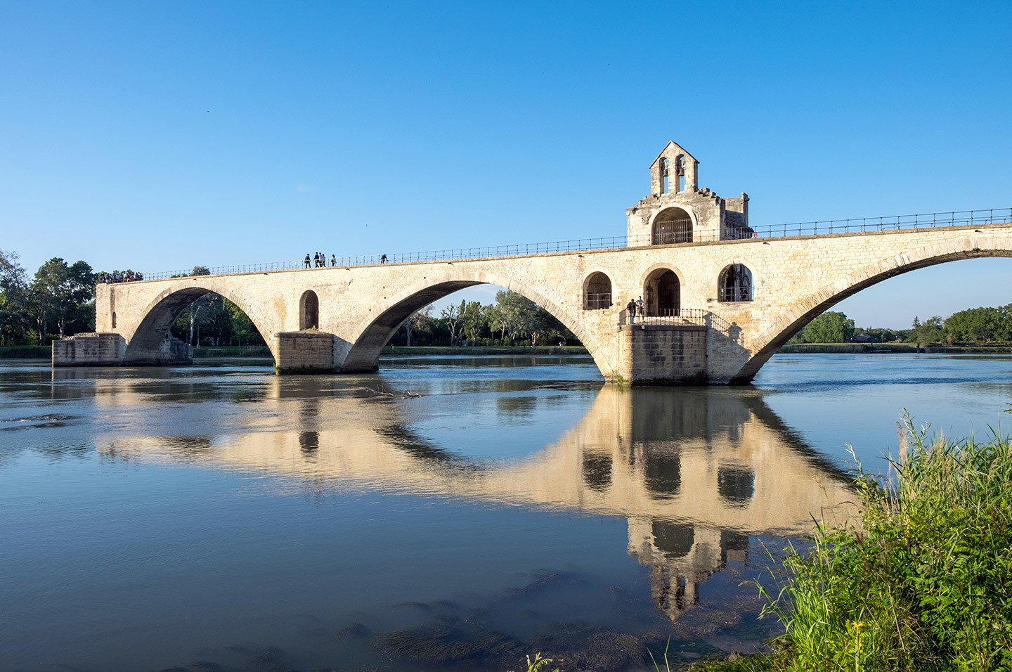 The Pont d'Avignon or Pont St-Bénezet