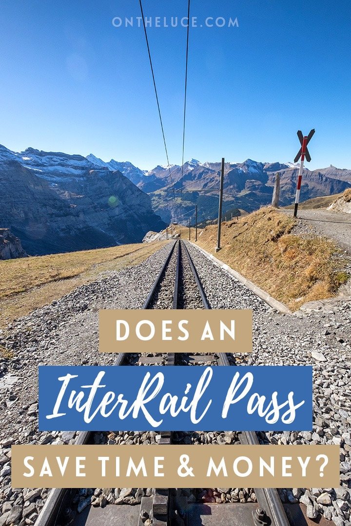 Can you save time and money travelling by train in Europe by using an Interrail pass? Or is it quicker and cheaper to book single tickets?
