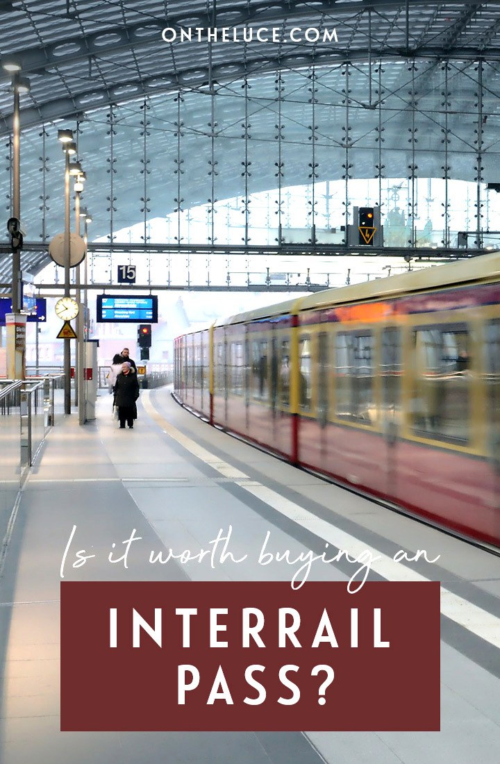 Does an InterRail Pass save money and time travelling by train in Europe? Or is it quicker and cheaper to book single tickets for budget European rail trip? #InterRail #Eurail #traintravel
