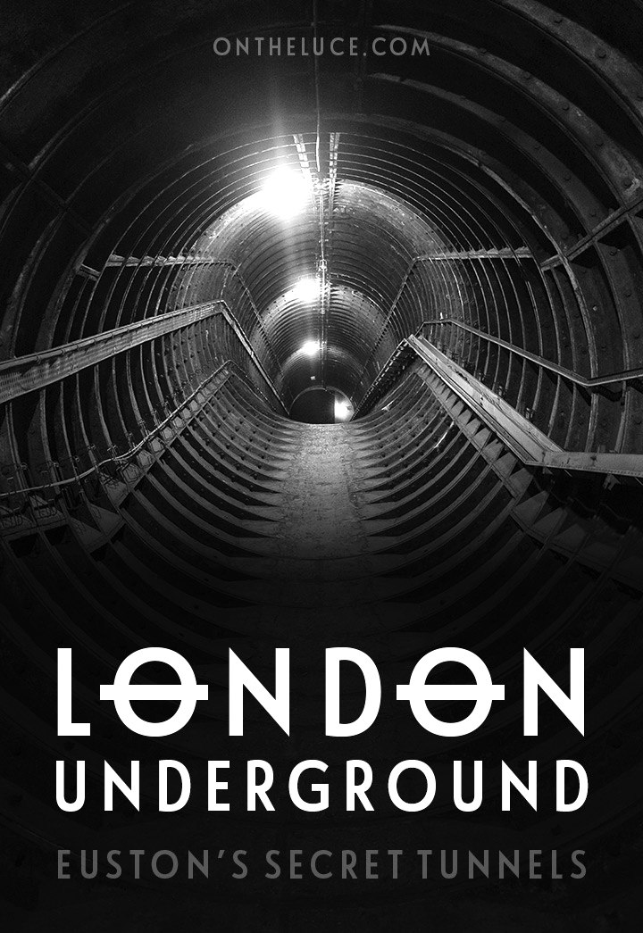 Discovering Euston's secret tunnels, the network of deserted hidden tunnels dating back to the 1960s which lie beneath this London Underground station.