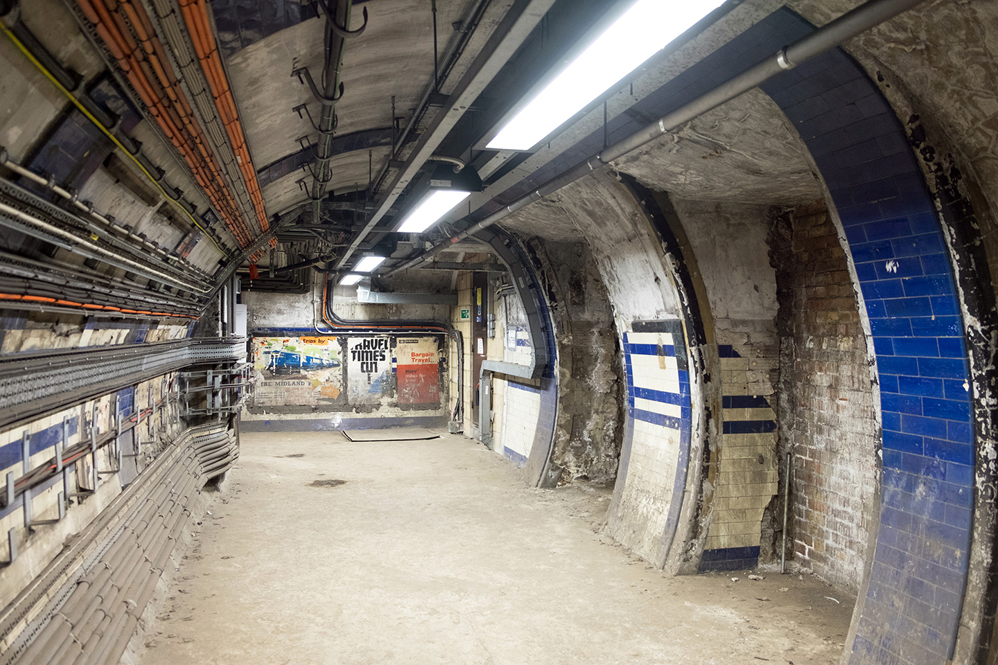 Euston's secret tunnels on the Hidden London underground tour