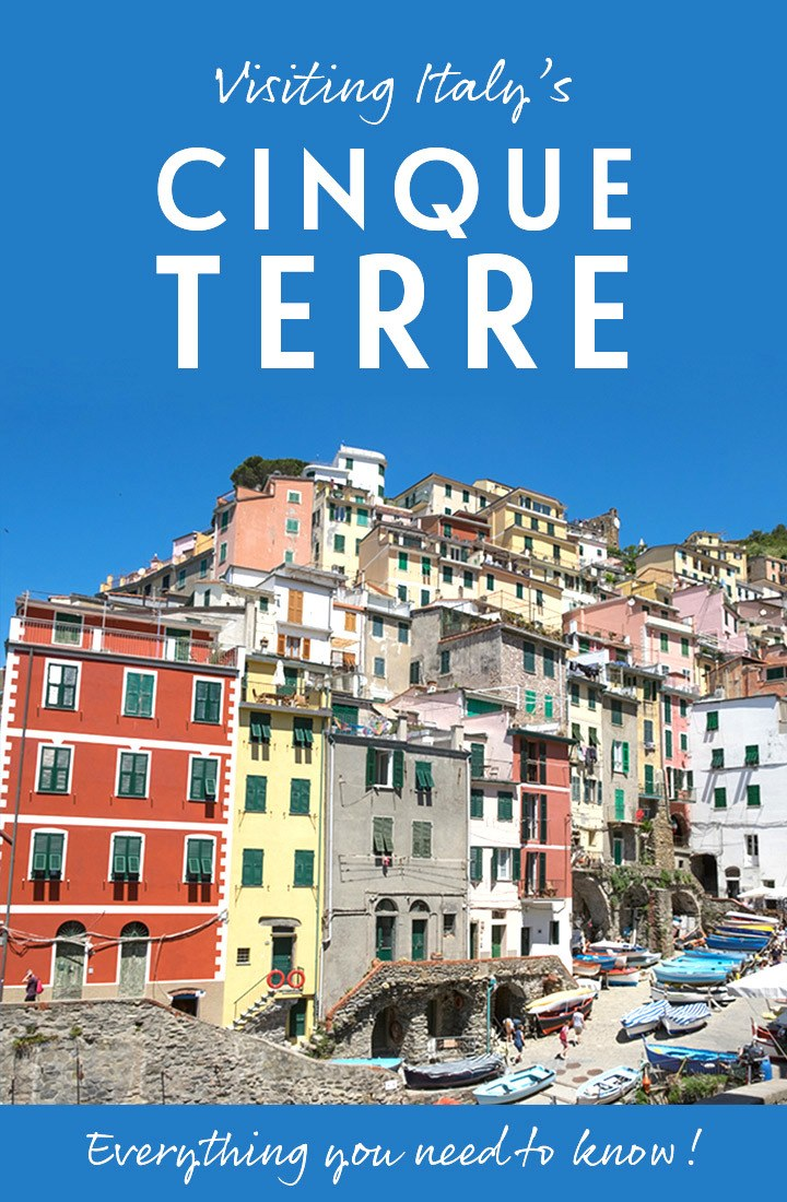A guide to the Cinque Terre, Italy – everything you need to know to plan your perfect Cinque Terre trip, from when to visit and where to stay, to the walks and transport #Italy #CinqueTerre #Monterosso #Vernazza #Corniglia #Manarola #Riomaggiore #travelguide