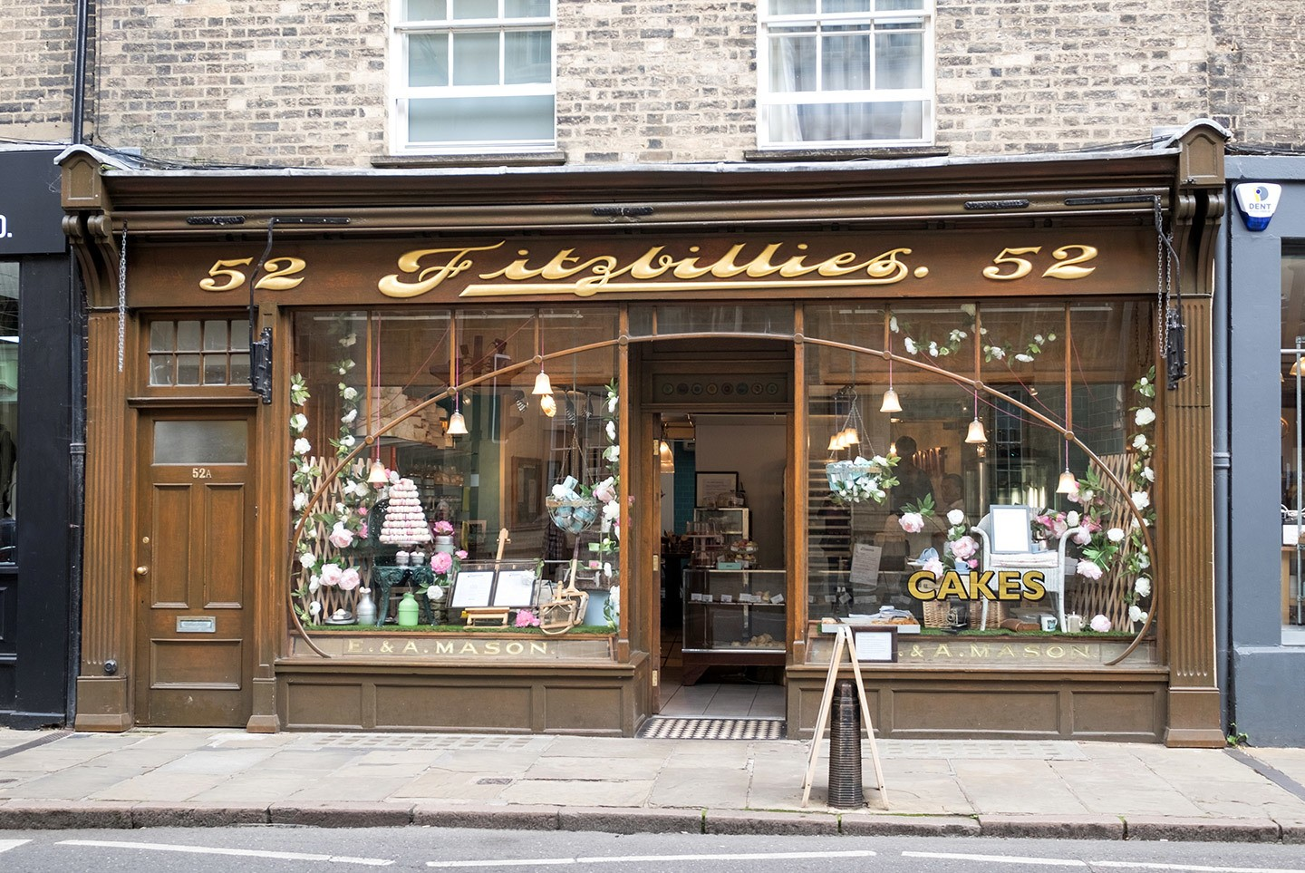 Fitzbillies Café in Cambridge