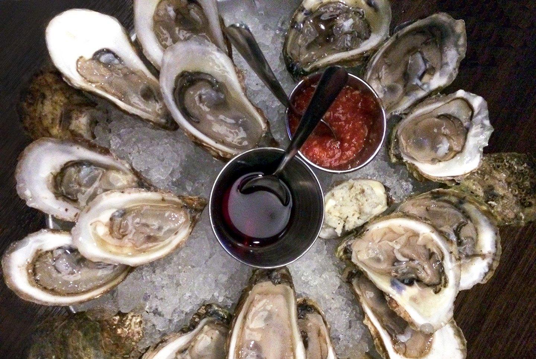 Oysters in Prince Edward Island, Canada