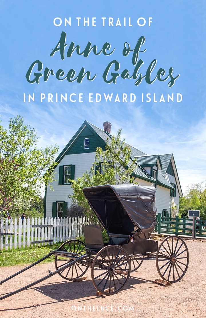On the trail of Anne of Green Gables and author Lucy Maud Montgomery on Prince Edward Island in Canada, setting for the much-loved series of books.