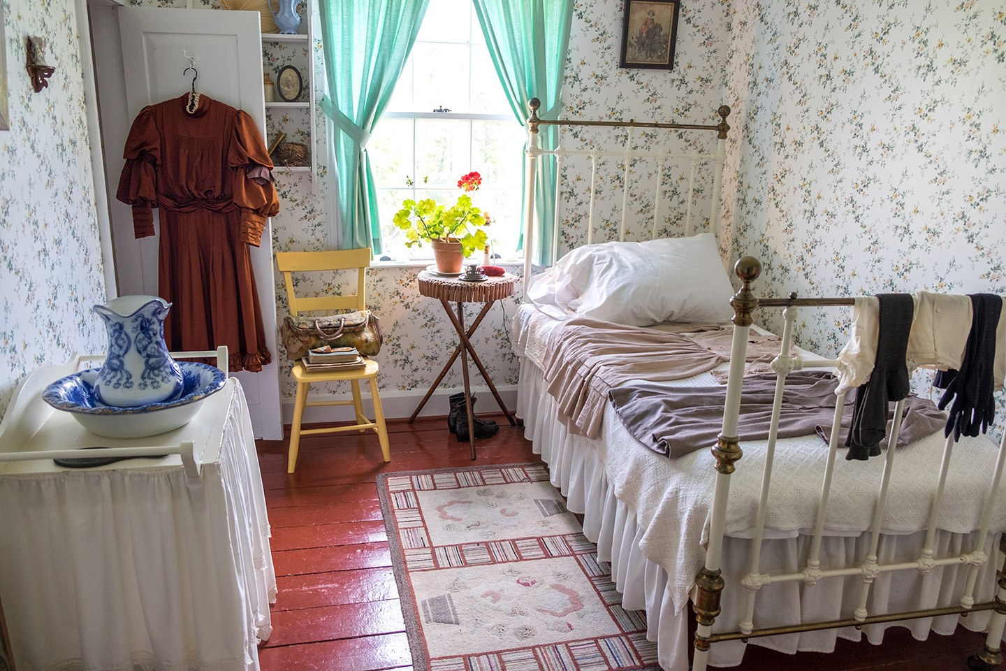Anne's bedroom in Green Gables Heritage Place