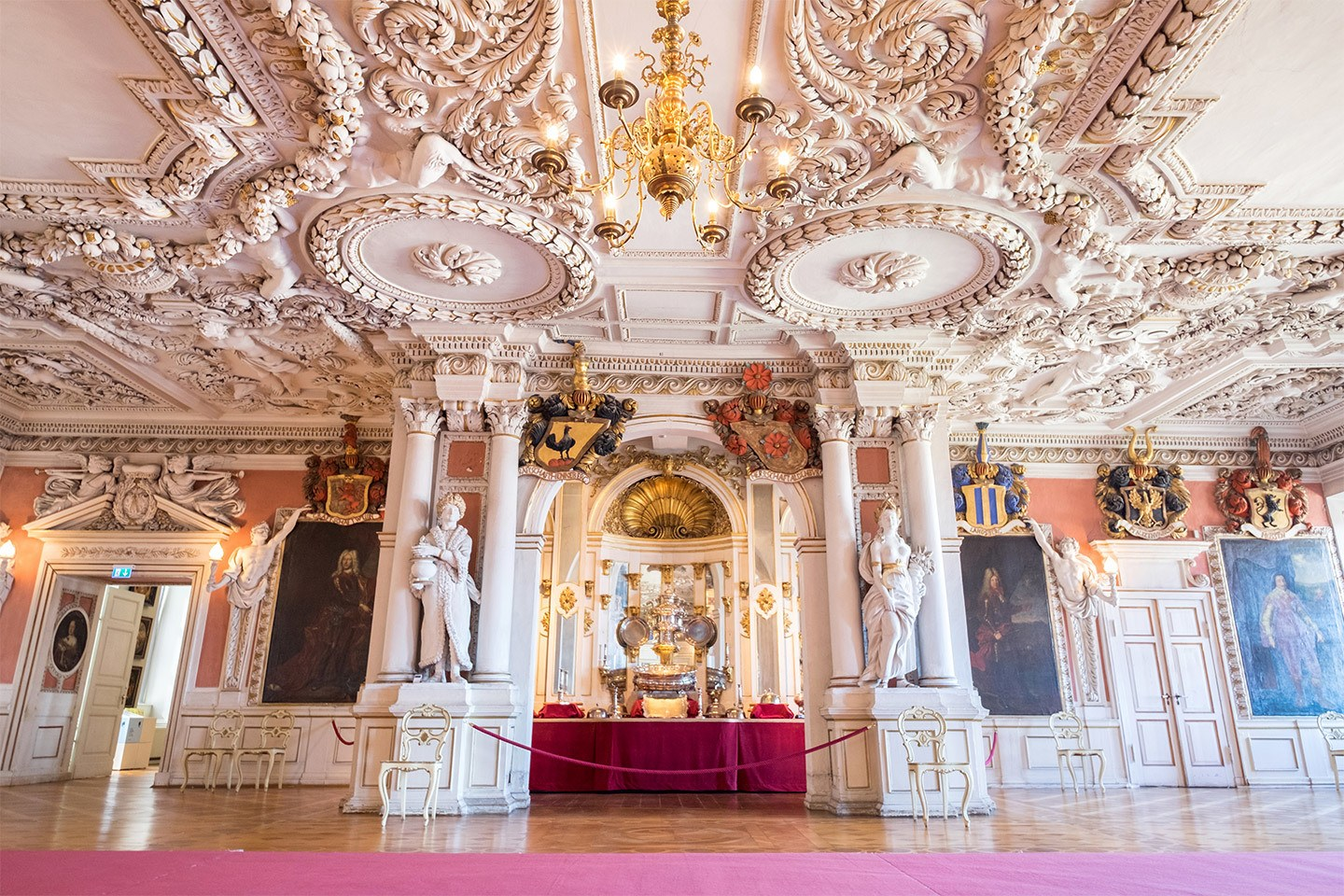 Friedenstein Palace ballroom