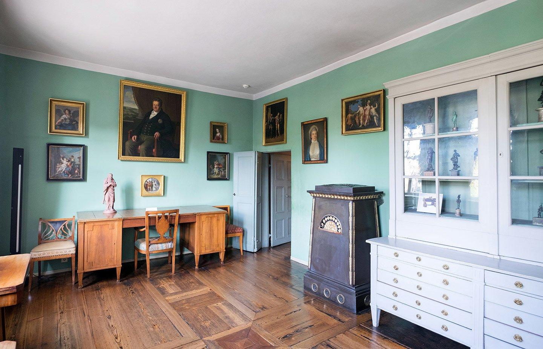 Goethe's house in Weimar, Germany