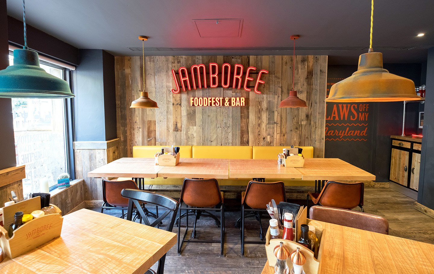 Jamboree restaurant at the Ibis Styles Manchester Portland