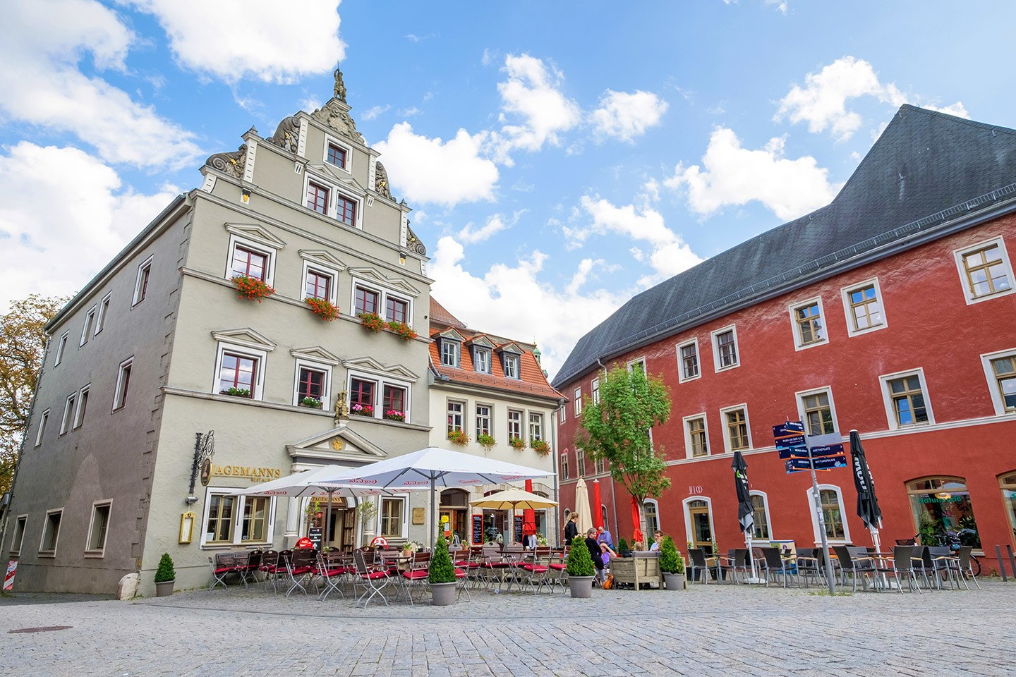 Cafes in Weimar, Germany