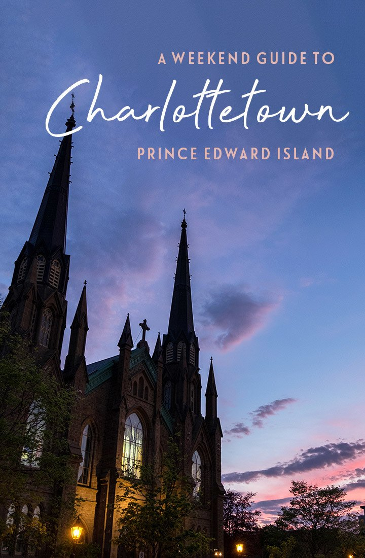 Things to do in Charlottetown, Prince Edward Island – a 48-hour itinerary for the perfect weekend in Charlottetown featuring history, art, great food and drink #Charlottetown #PEI #Canada
