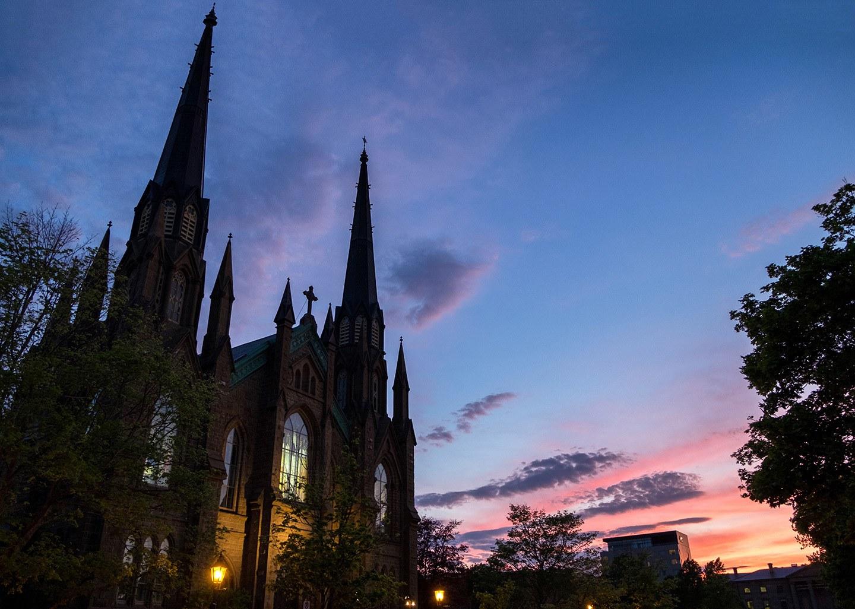 St Dunstan's Basilica, Charlottetown, Prince Edward Island, Canada