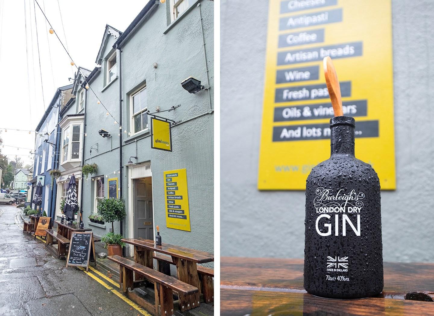 Ginhaus deli in Llandeilo, South Wales