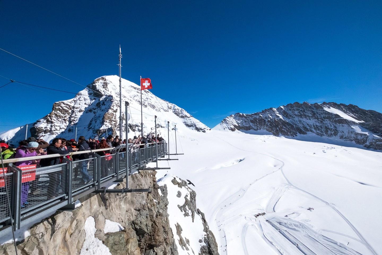 Jungfraujoch mountain railway, Switzerland