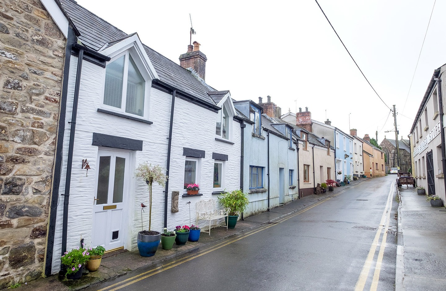 Narbeth in Pembrokeshire, Wales