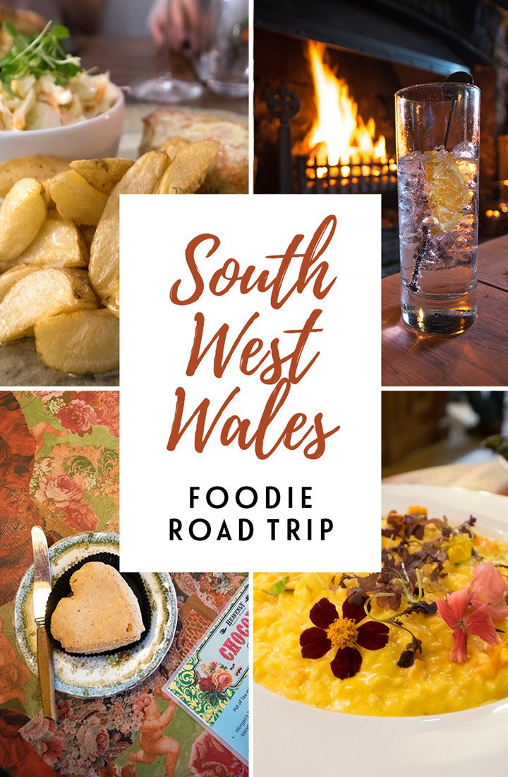 A food-lovers' road trip through South West Wales, a long weekend of castles, beaches, gardens, shopping, a whole lot of great food and drink