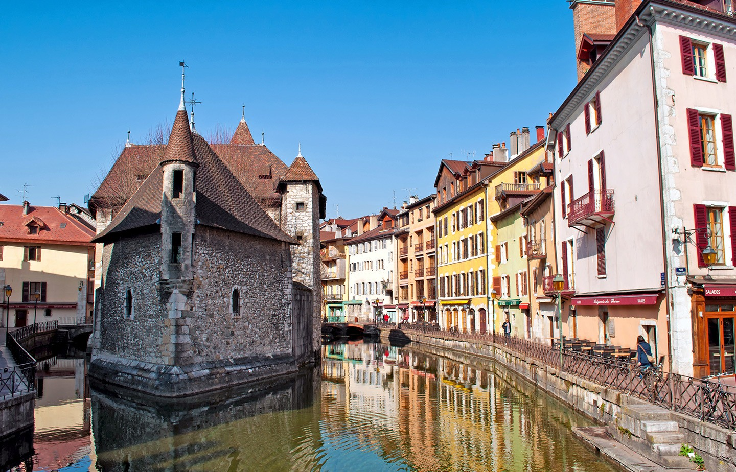 The best things do in Annecy, France – what to see and do in this lakeside town, including old town walks, castles, boat trips, beaches and markets.