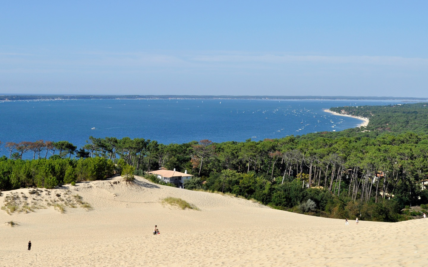 The Dune du Pyla in southwest France