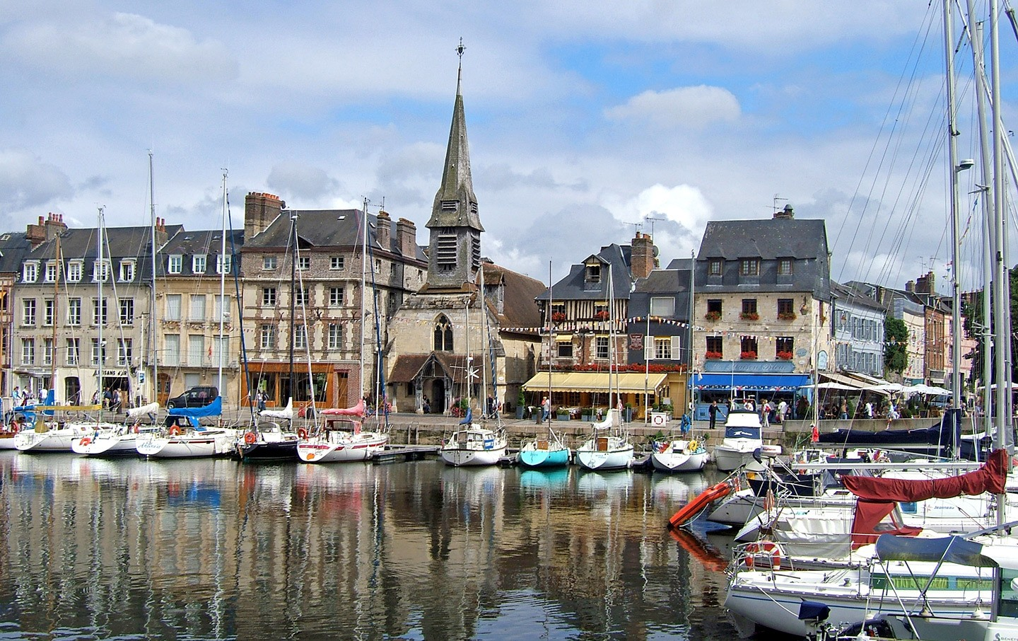 Honfleur in Normandy, France