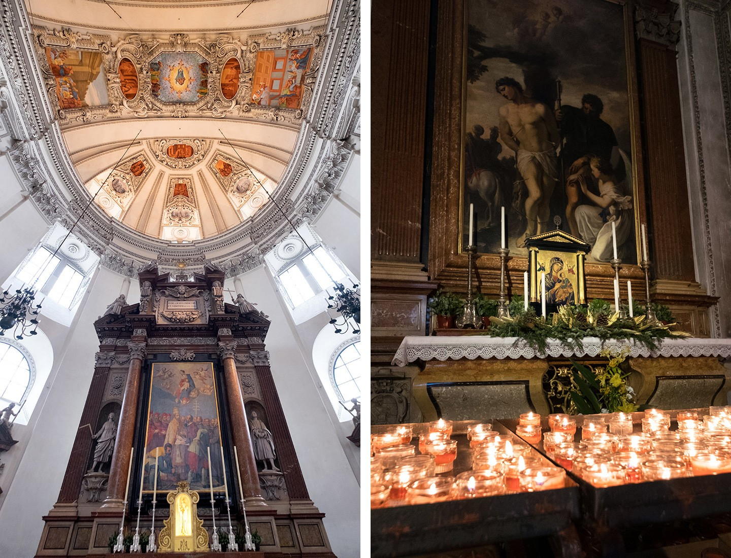 Salzburg cathedral – one of the top things to do in Salzburg