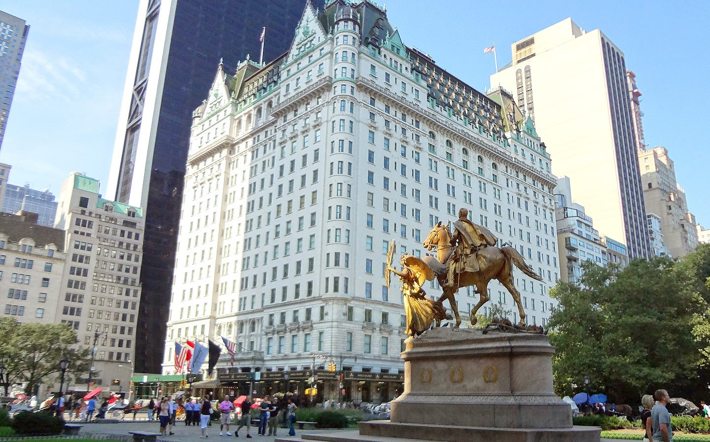 The Plaza Hotel, New York, where Home Alone 2 was filmed