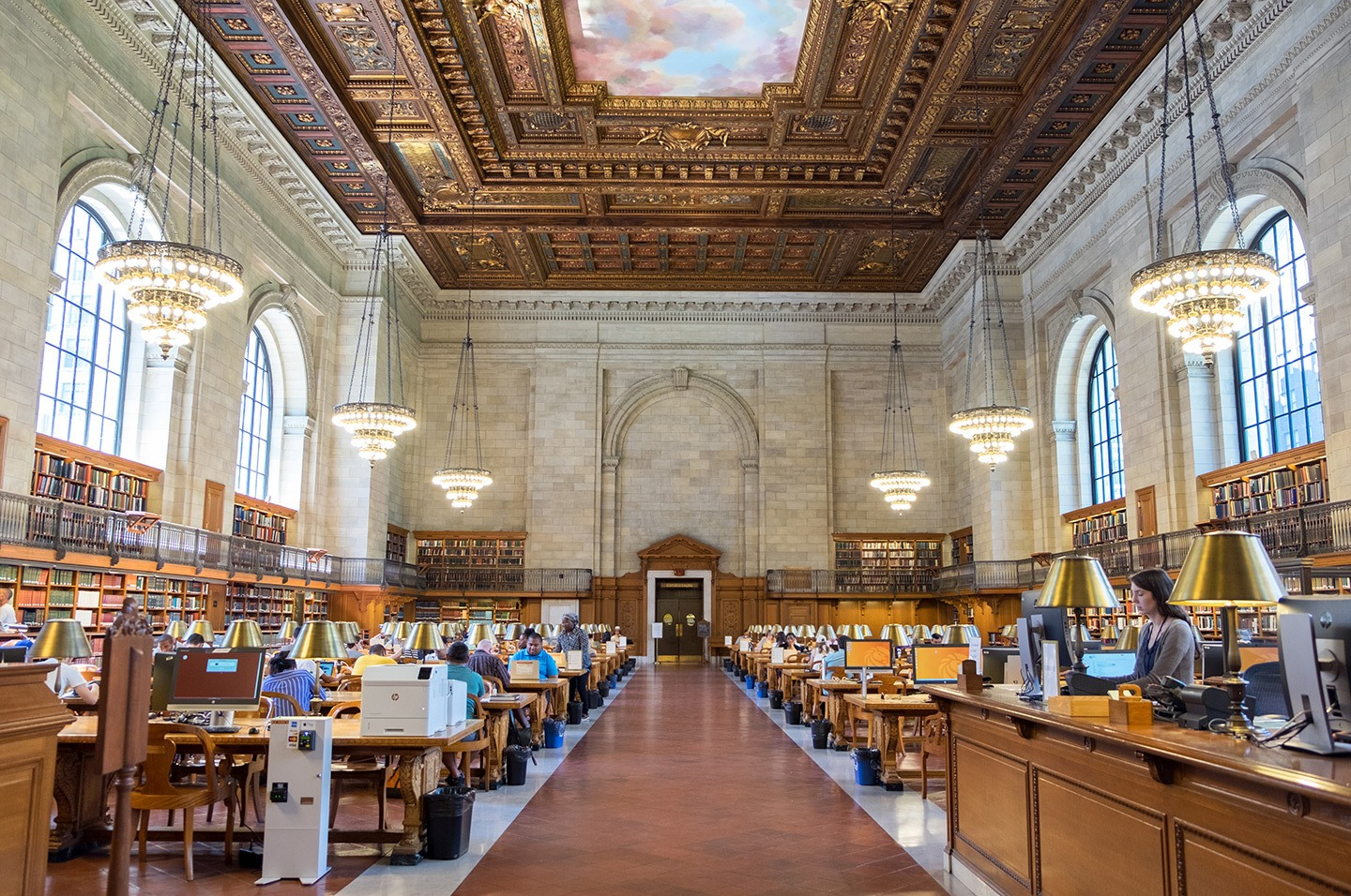 New York Public Library, New York, USA