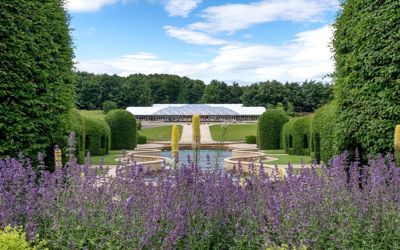Alnwick Gardens in Northumberland, England