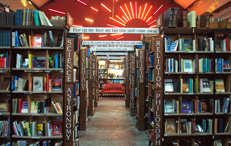 Barter Books in Alnwicjk, Northumberland, England