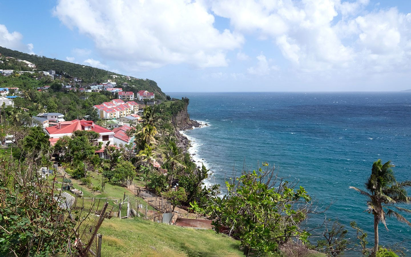 Views along the coast of Basse-Terre, Guadeloupe