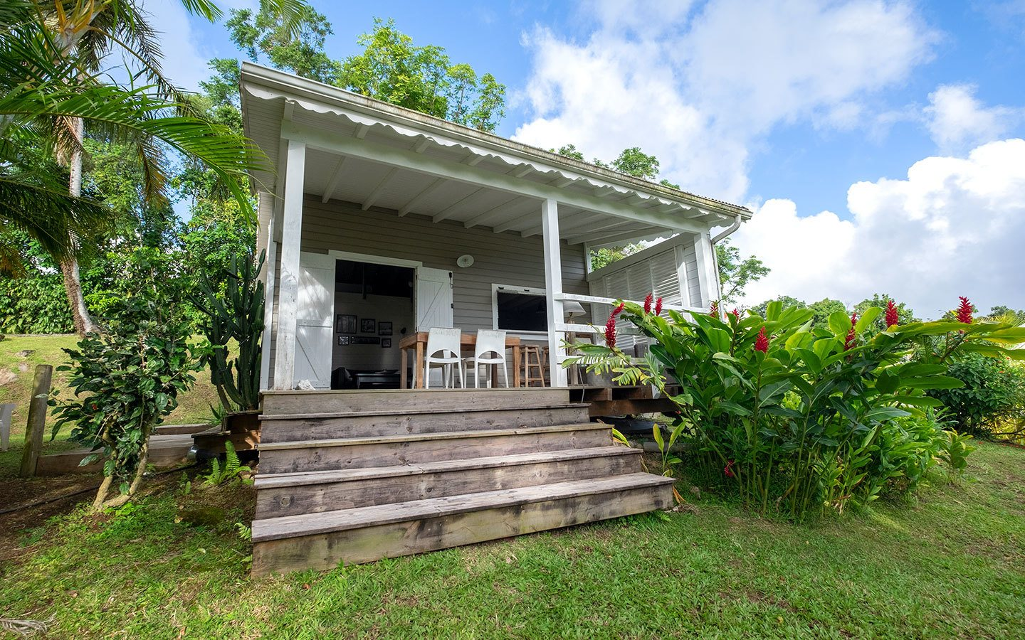 AirBnB cabin in the hills of Basse-Terre, Guadeloupe