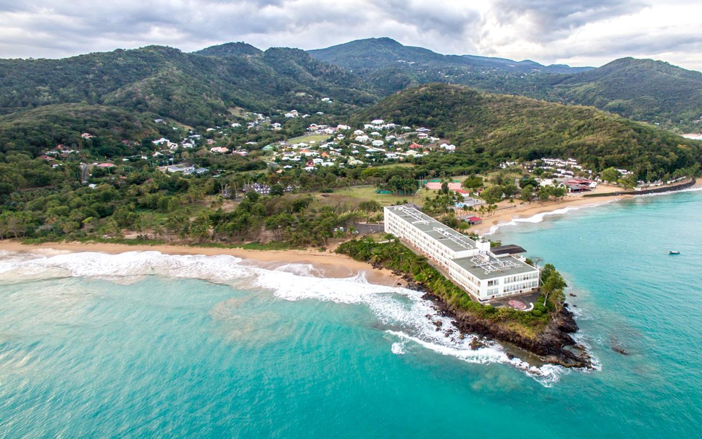 Langley Fort Royal hotel in Guadeloupe