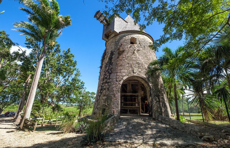Damoiseau rum distillery in Grande-Terre, Guadeloupe