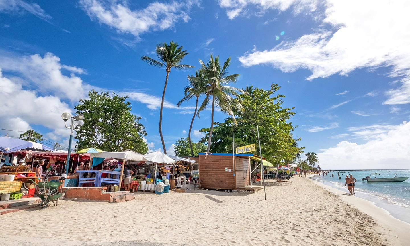 Sainte-Anne beach, one of the best things to do in Guadeloupe