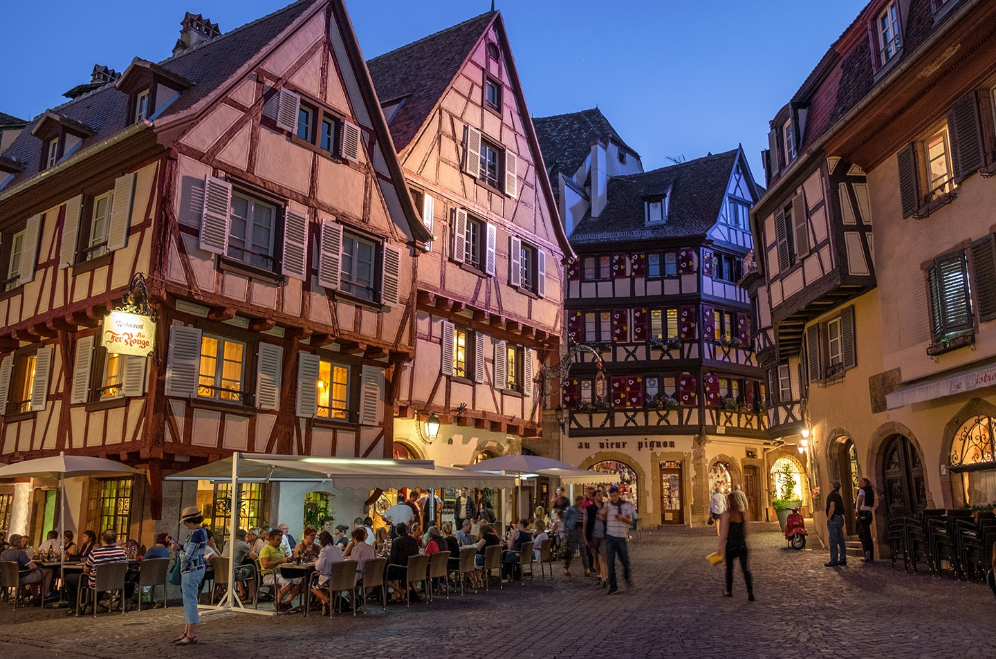 Colmar in France's Alsace region