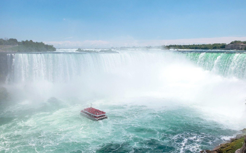 Horseshoe Falls at Niagara in Canada