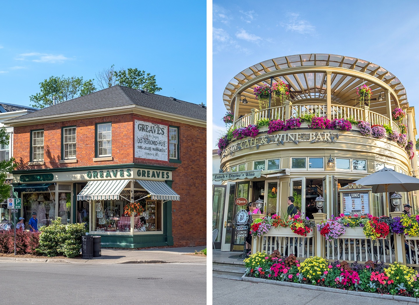 Niagara-on-the-Lake's heritage district, Canada